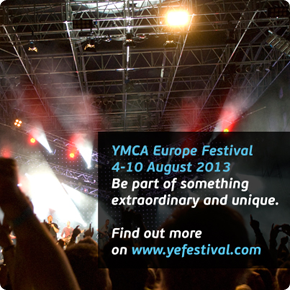 YMCA Europe Festival 2013 - Register now!